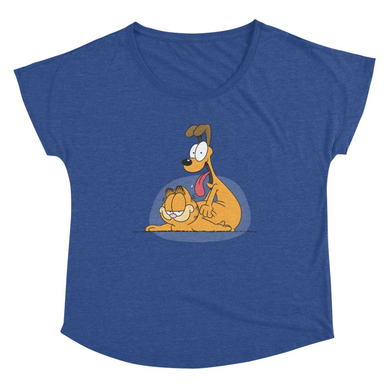 Garfield in CAT-DOG Women's Scoop Neck by YiannZ's Artist Shop