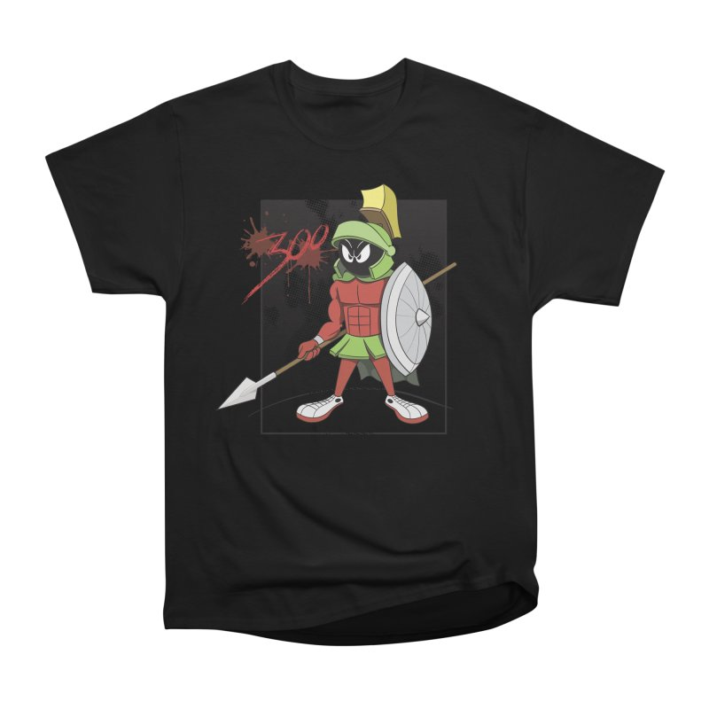Marvin the Spartan Men's T-Shirt by YiannZ's Artist Shop