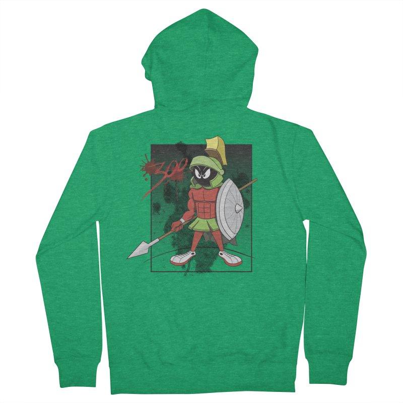 Marvin the Spartan Men's Zip-Up Hoody by YiannZ's Artist Shop
