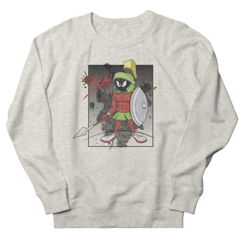 Marvin the Spartan Men's Sweatshirt by YiannZ's Artist Shop
