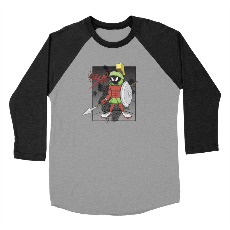 Marvin the Spartan Women's Longsleeve T-Shirt by YiannZ's Artist Shop