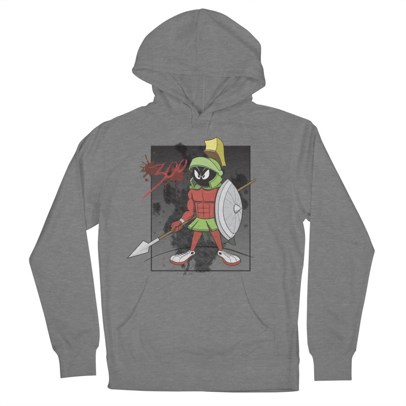 Marvin the Spartan Women's Pullover Hoody by YiannZ's Artist Shop