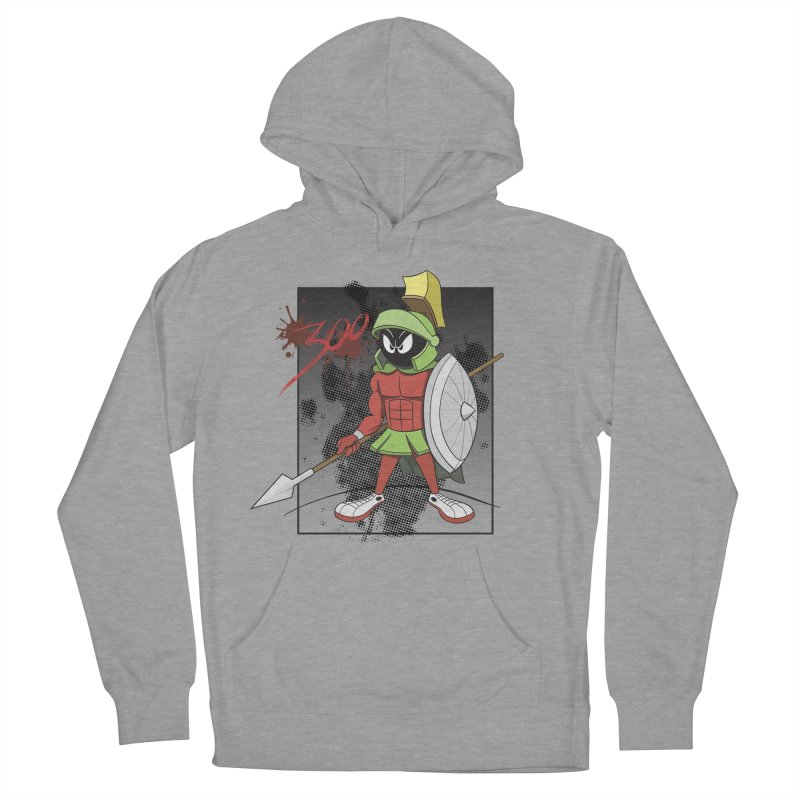 Marvin the Spartan Women's French Terry Pullover Hoody by YiannZ's Artist Shop