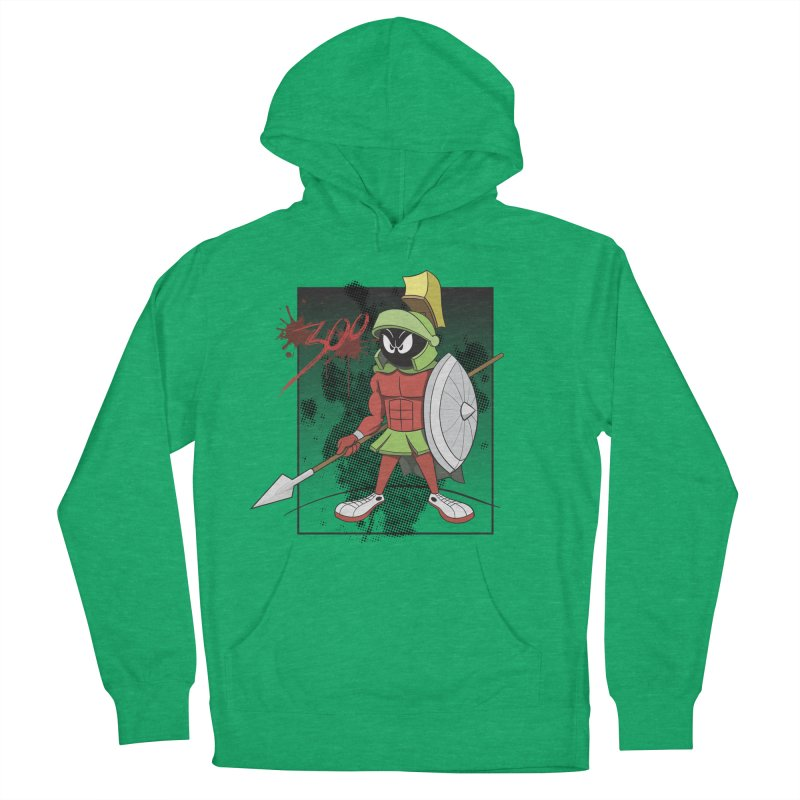 Marvin the Spartan Men's French Terry Pullover Hoody by YiannZ's Artist Shop