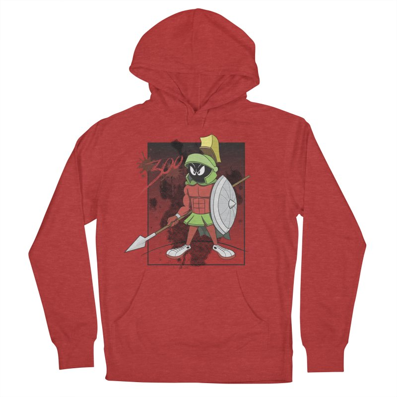 Marvin the Spartan Men's Pullover Hoody by YiannZ's Artist Shop