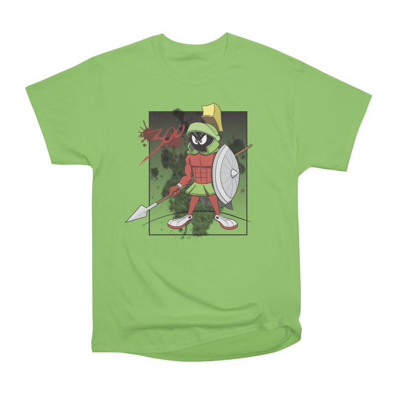 Marvin the Spartan Men's Heavyweight T-Shirt by YiannZ's Artist Shop