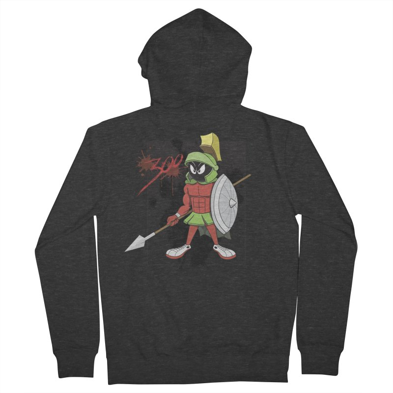 Marvin the Spartan Men's Zip-Up Hoody by YiannZ's Artist Shop