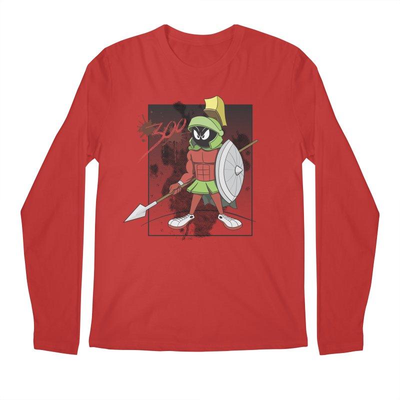 Marvin the Spartan Men's Regular Longsleeve T-Shirt by YiannZ's Artist Shop