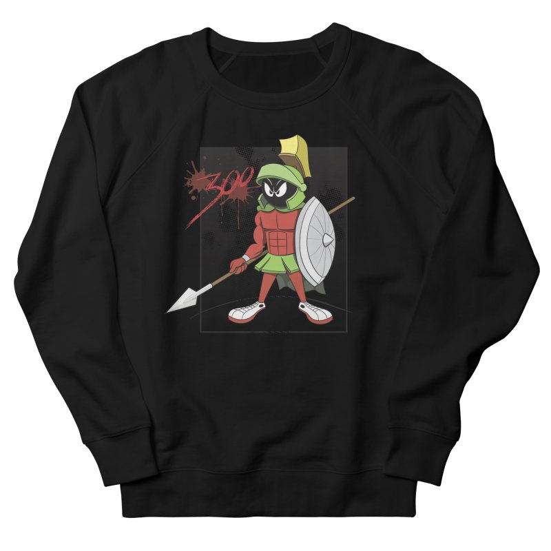 Marvin the Spartan Women's French Terry Sweatshirt by YiannZ's Artist Shop