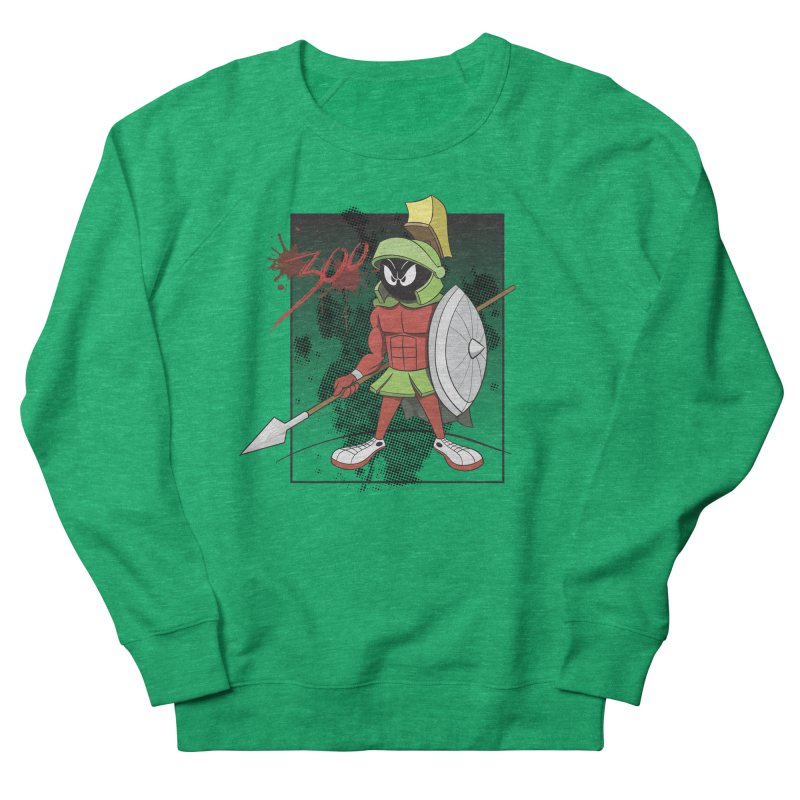 Marvin the Spartan Men's French Terry Sweatshirt by YiannZ's Artist Shop