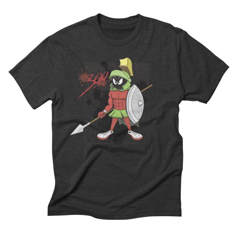 Marvin the Spartan Men's Triblend T-Shirt by YiannZ's Artist Shop