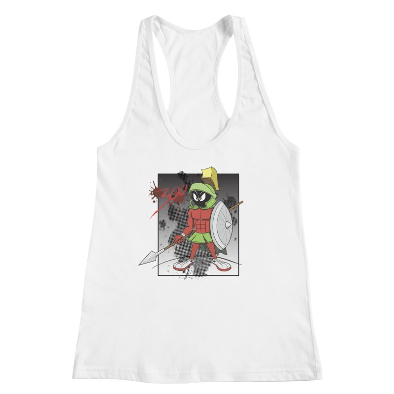 Marvin the Spartan Women's Tank by YiannZ's Artist Shop