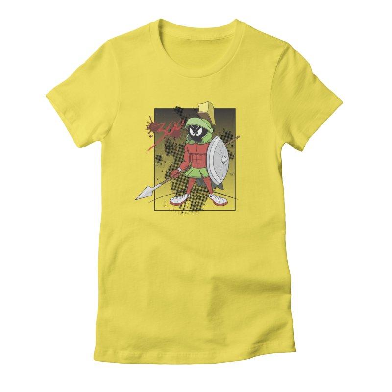 Marvin the Spartan Women's T-Shirt by YiannZ's Artist Shop