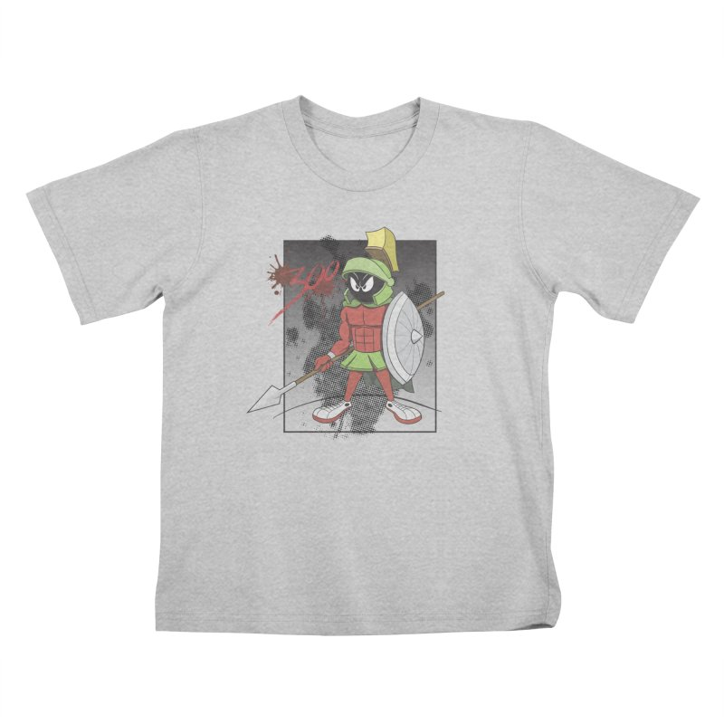 Marvin the Spartan Kids T-Shirt by YiannZ's Artist Shop