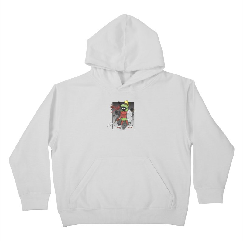 Marvin the Spartan Kids Pullover Hoody by YiannZ's Artist Shop