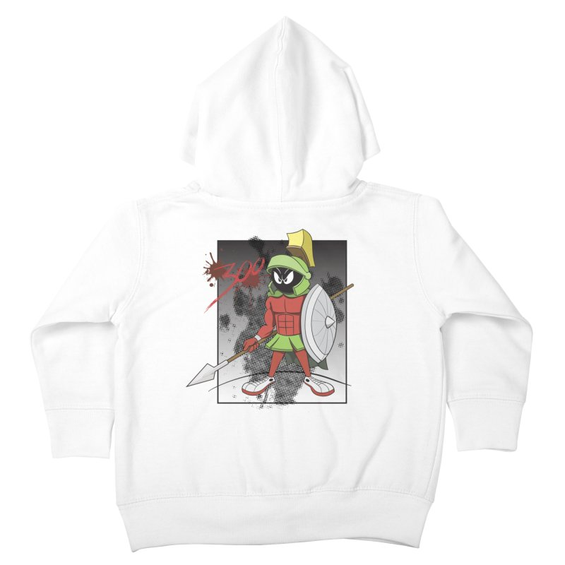 Marvin the Spartan Kids Toddler Zip-Up Hoody by YiannZ's Artist Shop