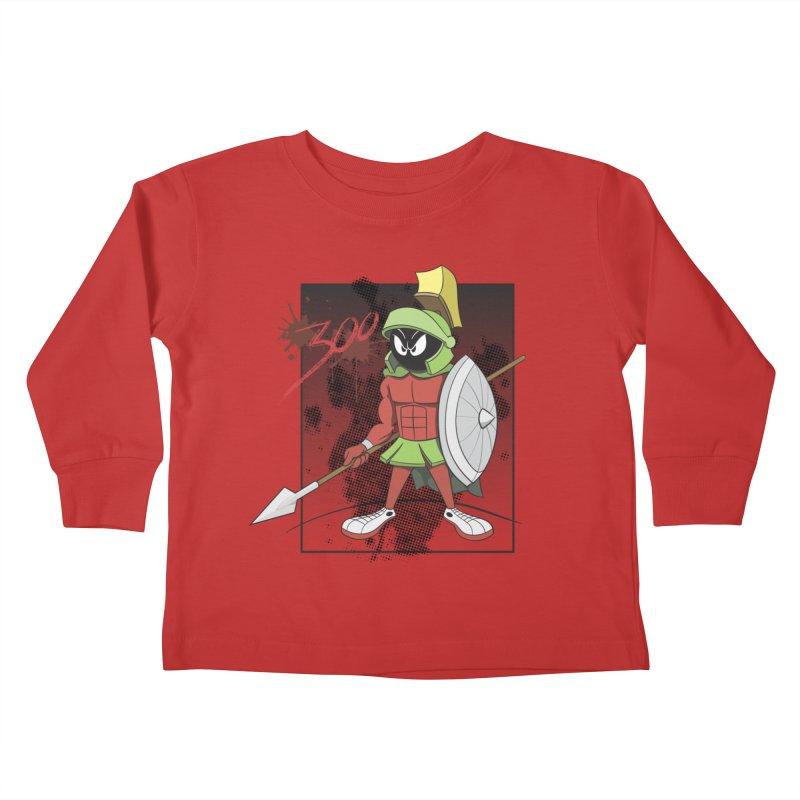 Marvin the Spartan Kids Toddler Longsleeve T-Shirt by YiannZ's Artist Shop