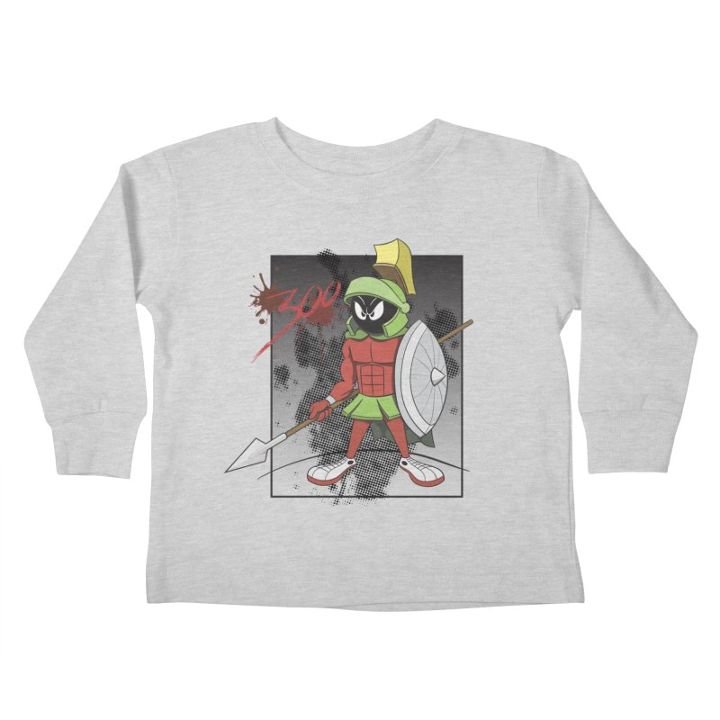 Marvin the Spartan Kids Toddler Longsleeve T-Shirt by YiannZ's Artist Shop