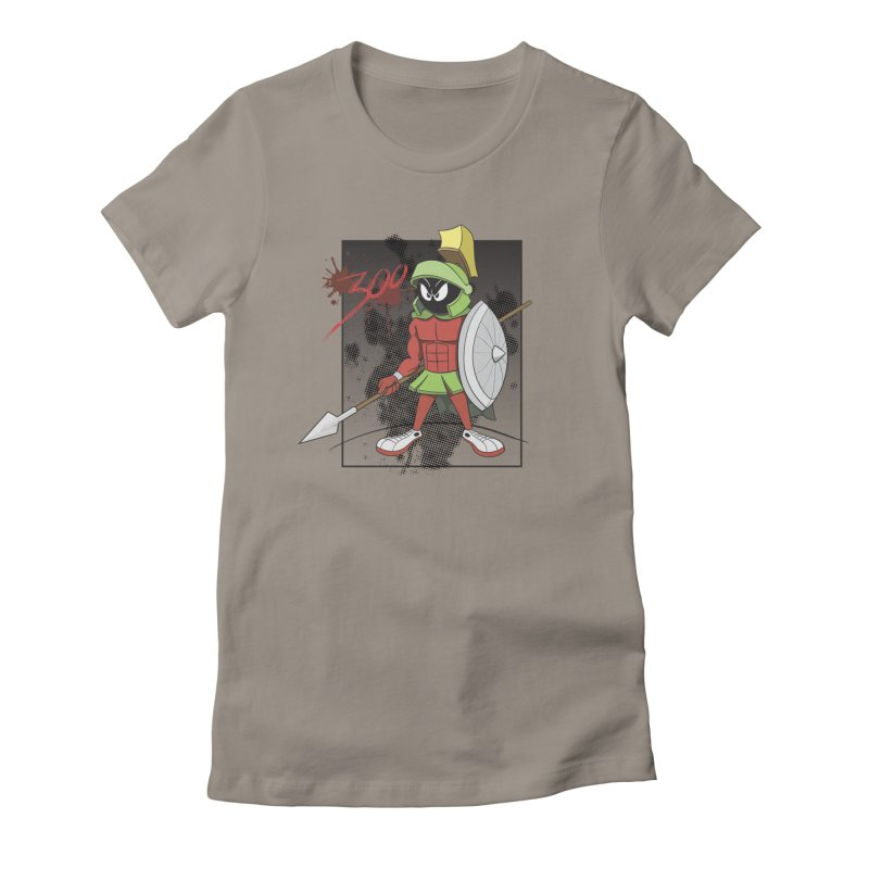 Marvin the Spartan Women's T-Shirt by YiannZ's Artist Shop