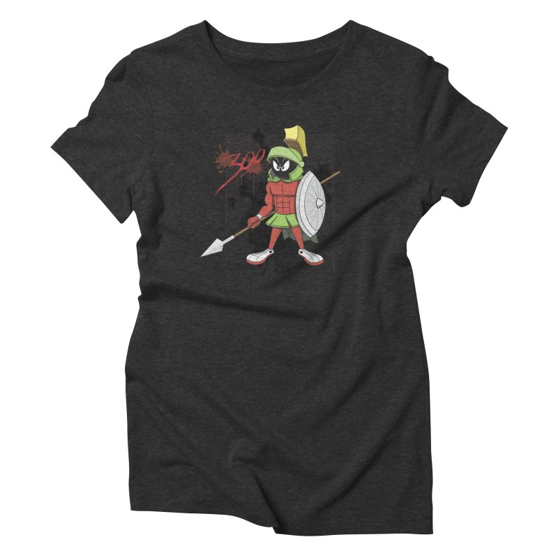 Marvin the Spartan Women's Triblend T-Shirt by YiannZ's Artist Shop