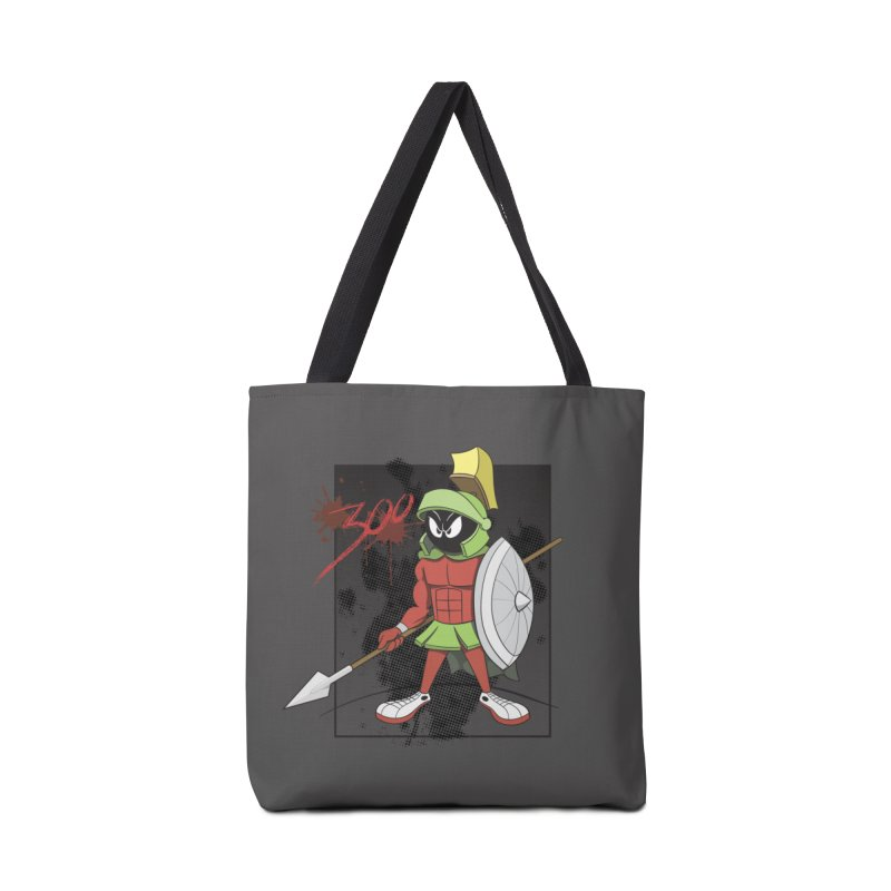 Marvin the Spartan Accessories Tote Bag Bag by YiannZ's Artist Shop