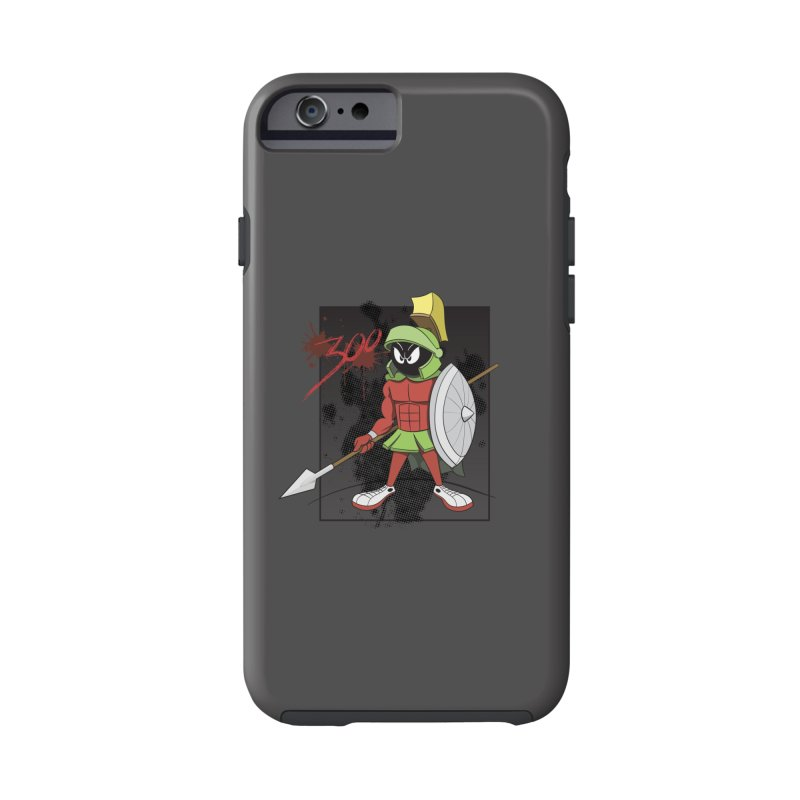 Marvin the Spartan Accessories Phone Case by YiannZ's Artist Shop