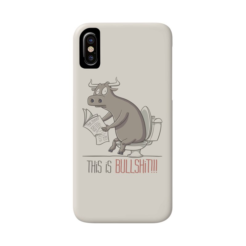 This is Bullshit Accessories Phone Case by YiannZ's Artist Shop