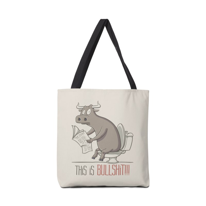 This is Bullshit Accessories Tote Bag Bag by YiannZ's Artist Shop