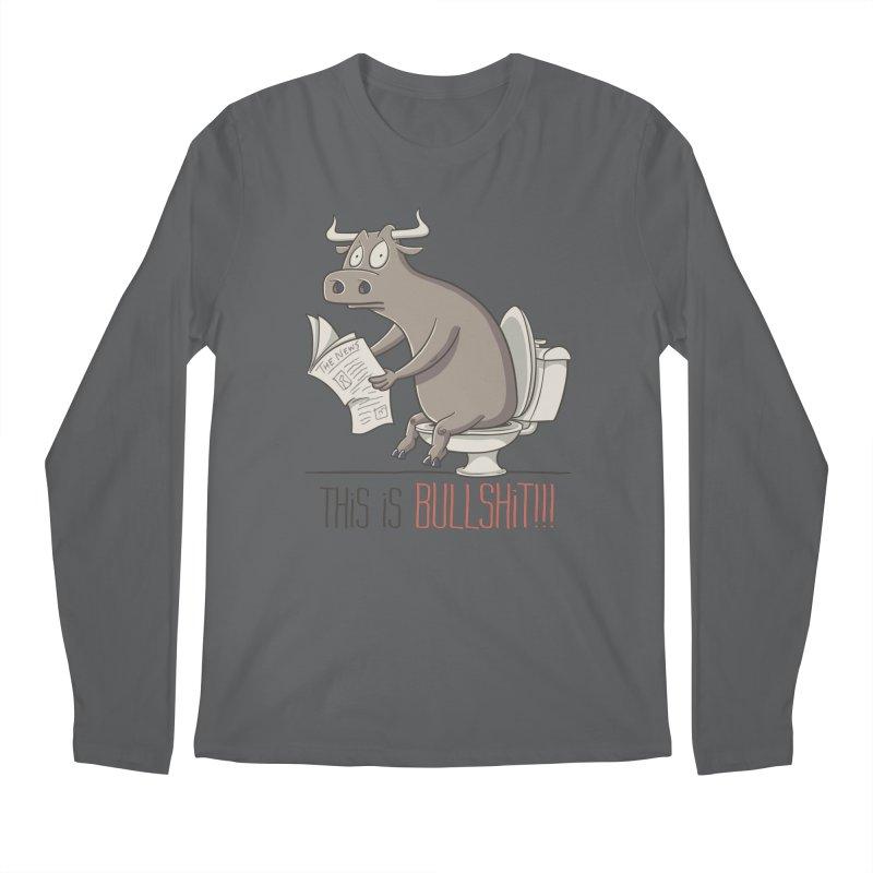 This is Bullshit Men's Longsleeve T-Shirt by YiannZ's Artist Shop