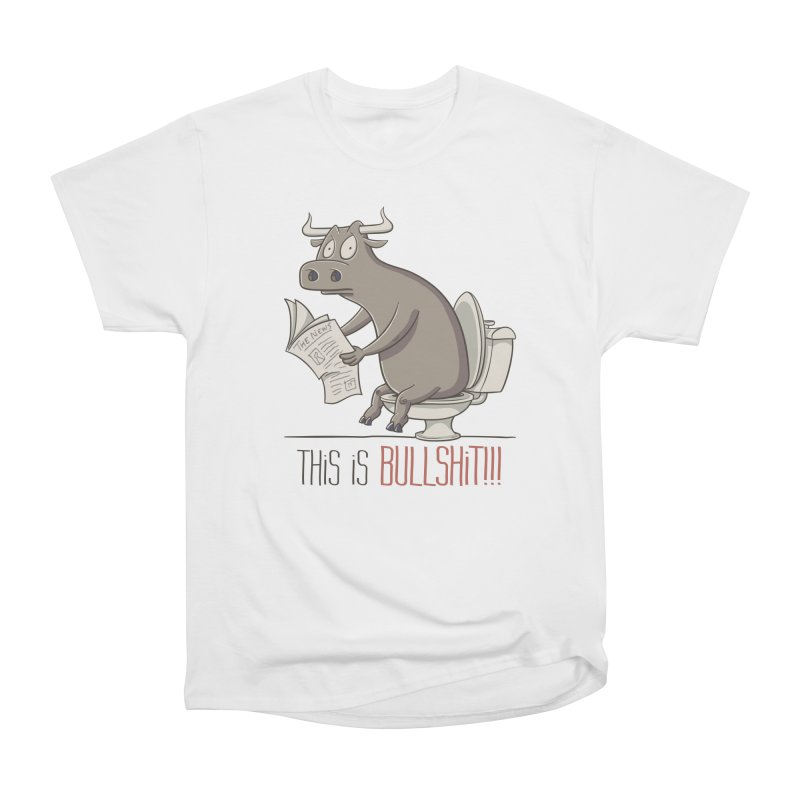 This is Bullshit Men's Heavyweight T-Shirt by YiannZ's Artist Shop