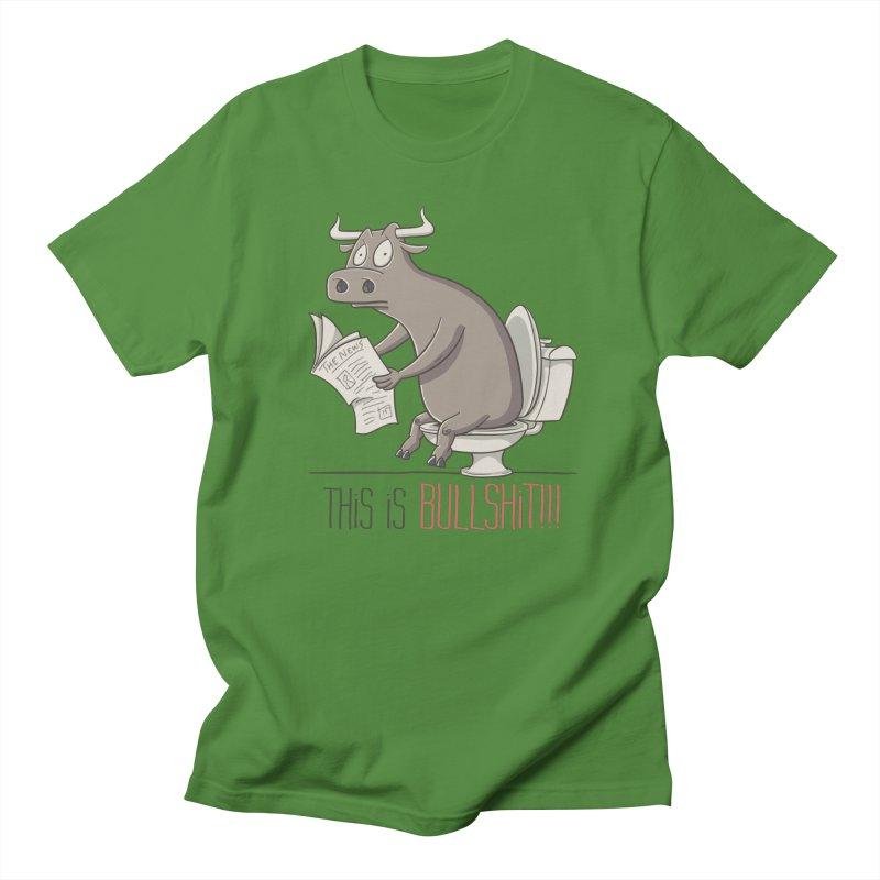 This is Bullshit Men's T-Shirt by YiannZ's Artist Shop