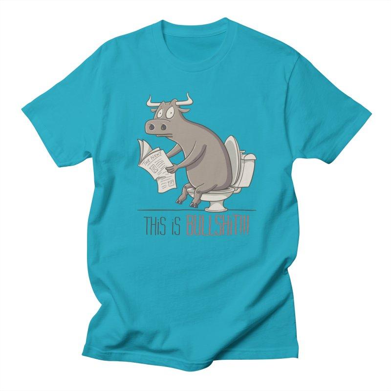 This is Bullshit Men's Regular T-Shirt by YiannZ's Artist Shop
