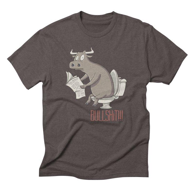 This is Bullshit Men's Triblend T-Shirt by YiannZ's Artist Shop