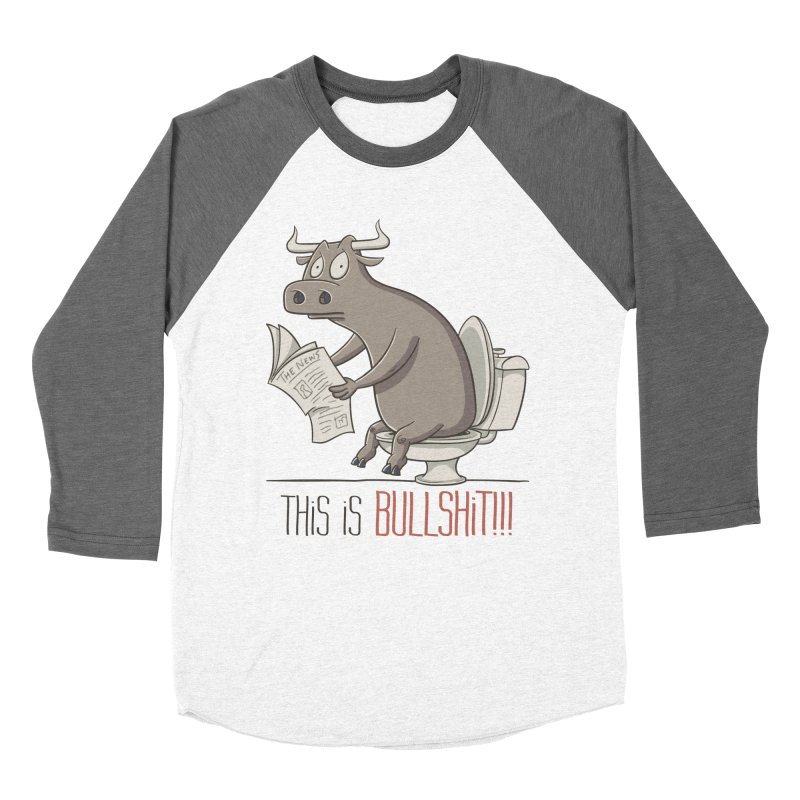This is Bullshit Women's Longsleeve T-Shirt by YiannZ's Artist Shop
