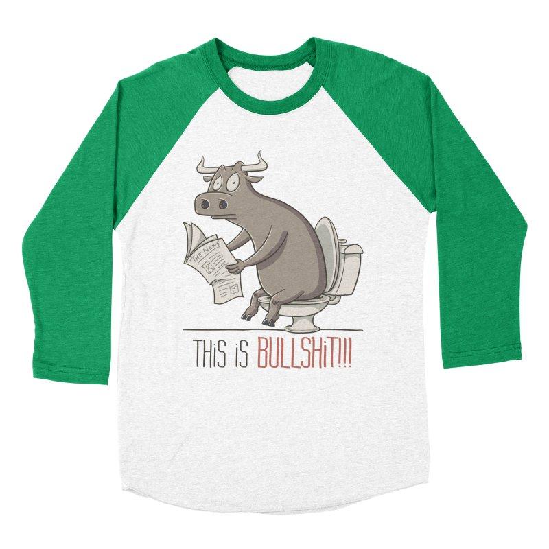 This is Bullshit Women's Baseball Triblend Longsleeve T-Shirt by YiannZ's Artist Shop