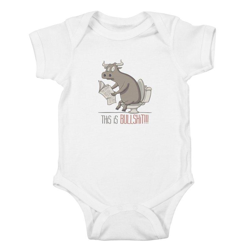 This is Bullshit Kids Baby Bodysuit by YiannZ's Artist Shop