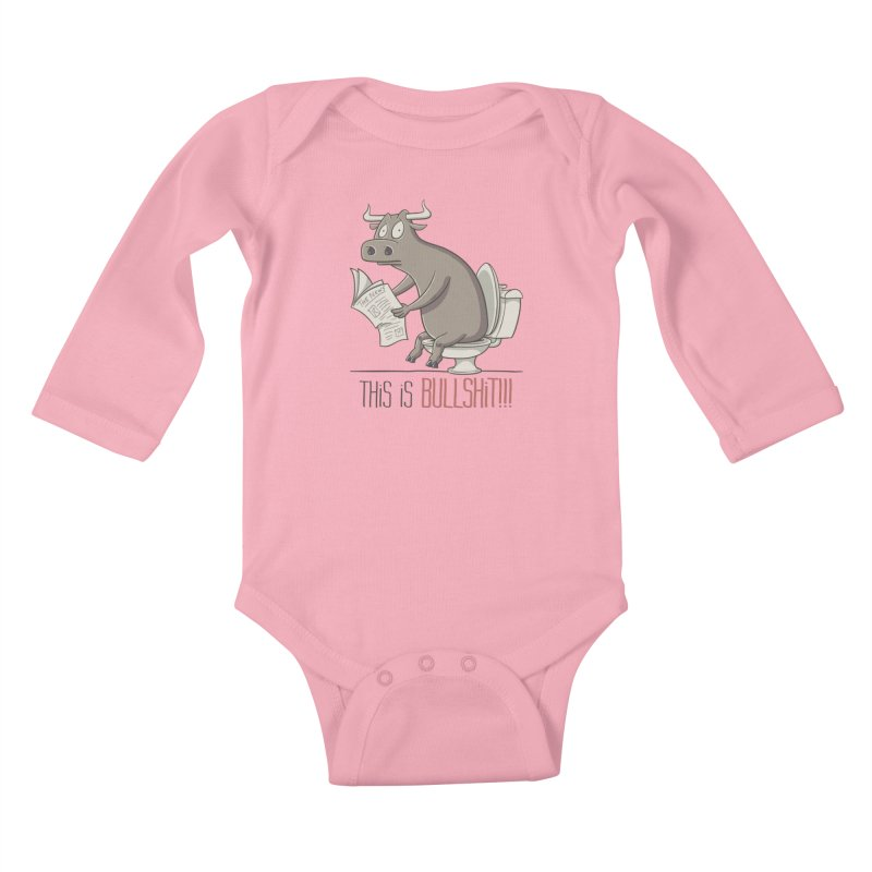 This is Bullshit Kids Baby Longsleeve Bodysuit by YiannZ's Artist Shop