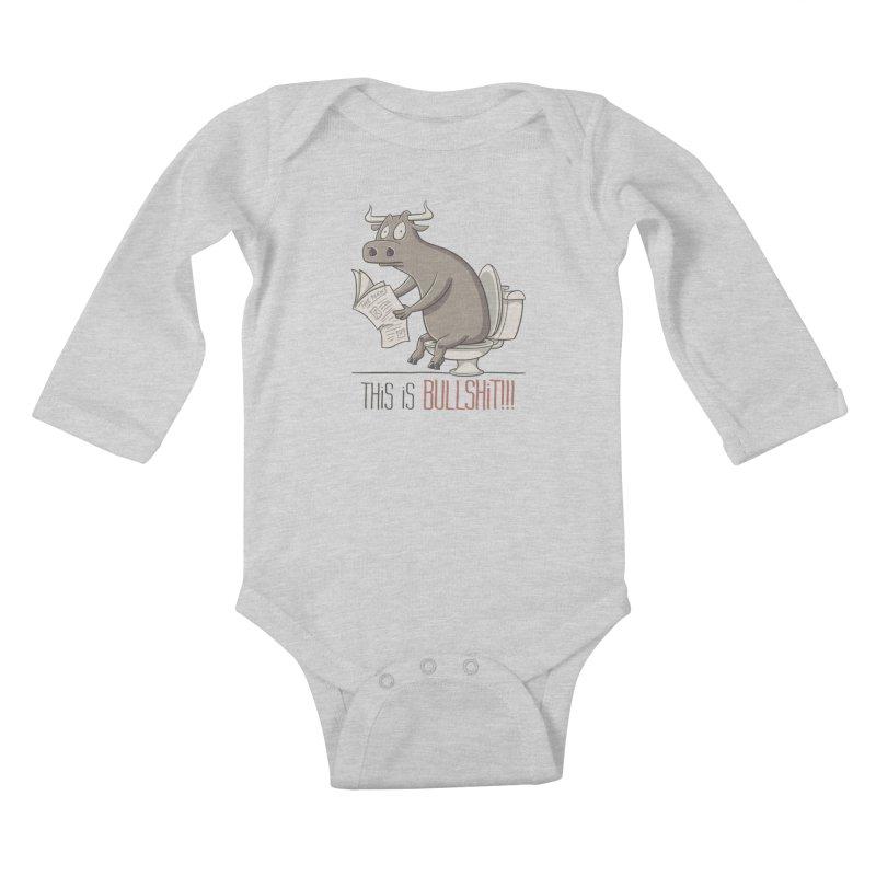 This is Bullshit Kids Baby Longsleeve Bodysuit by YiannZ's Artist Shop