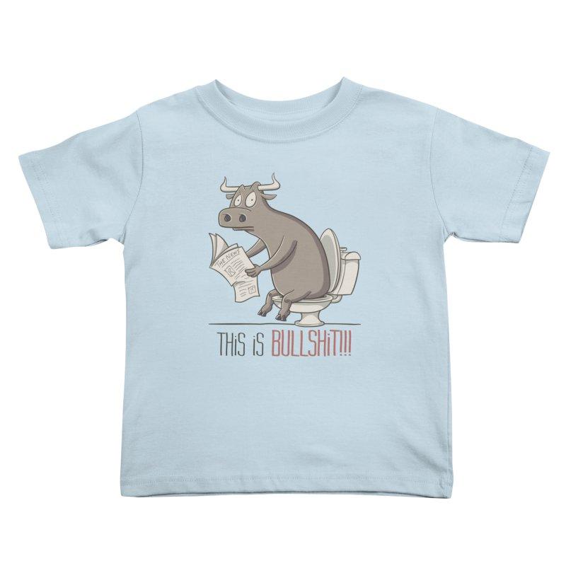 This is Bullshit Kids Toddler T-Shirt by YiannZ's Artist Shop
