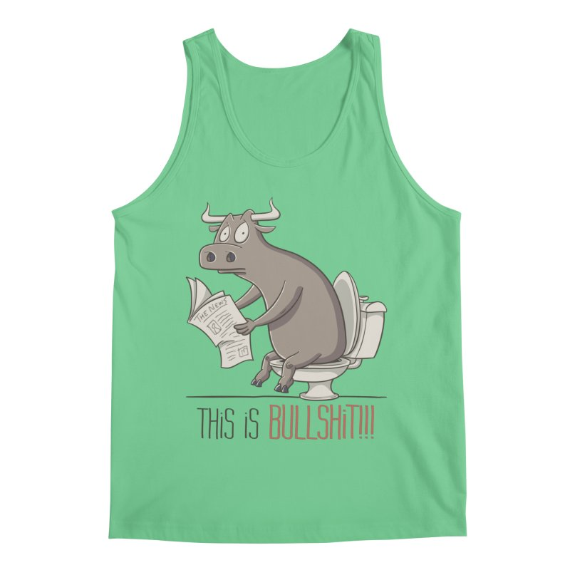 This is Bullshit Men's Regular Tank by YiannZ's Artist Shop