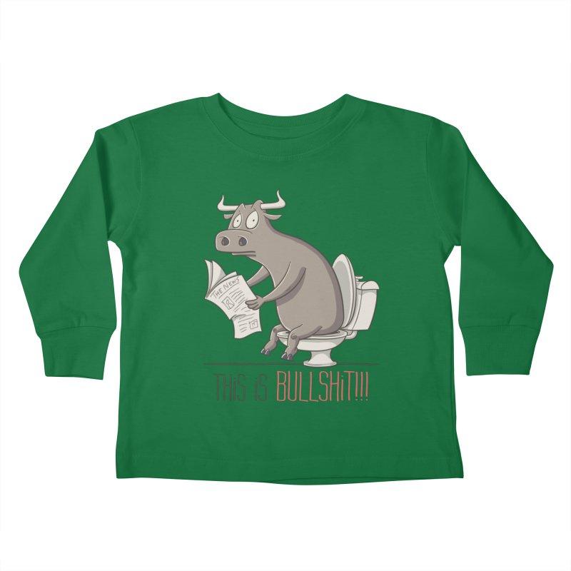 This is Bullshit Kids Toddler Longsleeve T-Shirt by YiannZ's Artist Shop