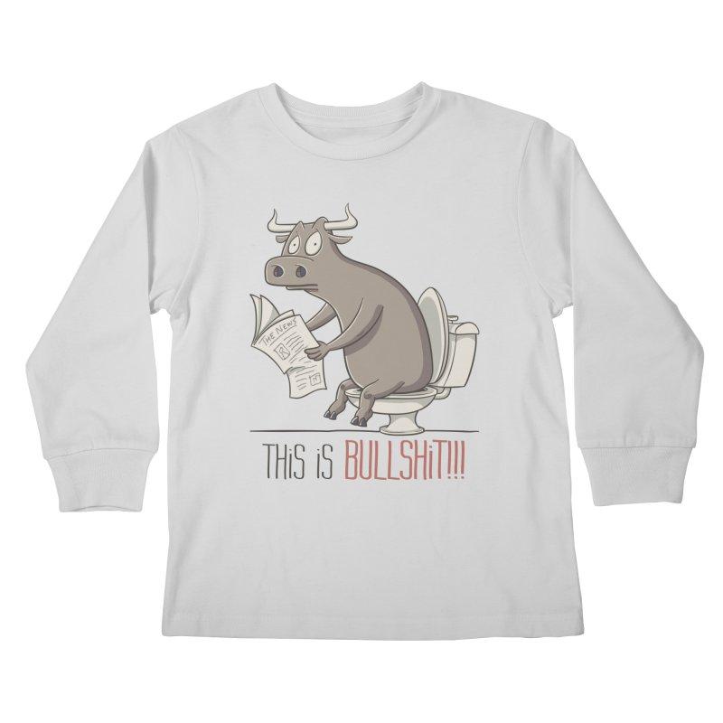This is Bullshit Kids Longsleeve T-Shirt by YiannZ's Artist Shop
