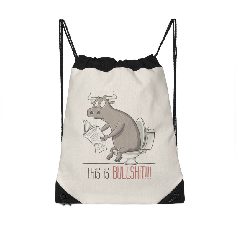 This is Bullshit Accessories Bag by YiannZ's Artist Shop