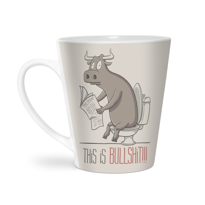 This is Bullshit Accessories Latte Mug by YiannZ's Artist Shop