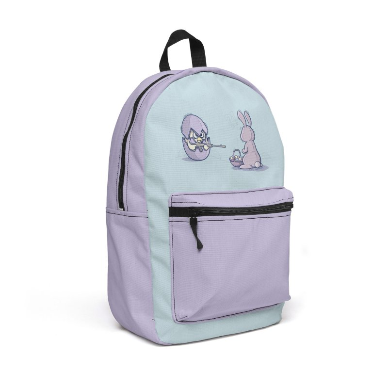 Easter Bunny in trouble Accessories Backpack Bag by YiannZ's Artist Shop