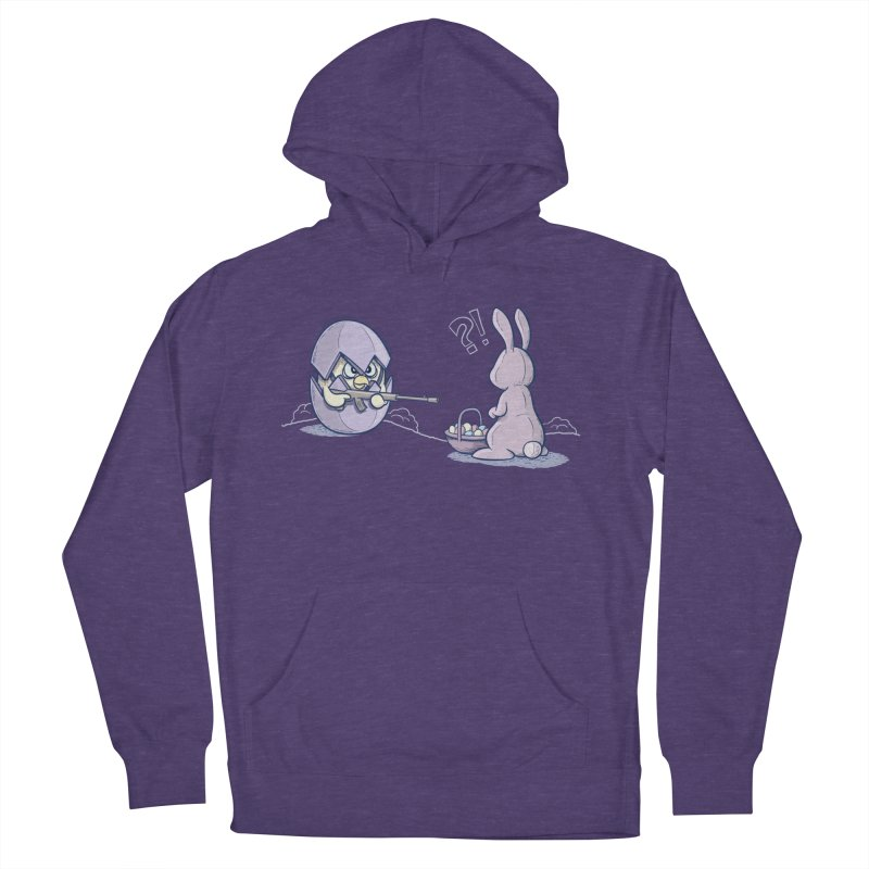Easter Bunny in trouble Women's Pullover Hoody by YiannZ's Artist Shop