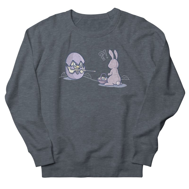 Easter Bunny in trouble Women's Sweatshirt by YiannZ's Artist Shop