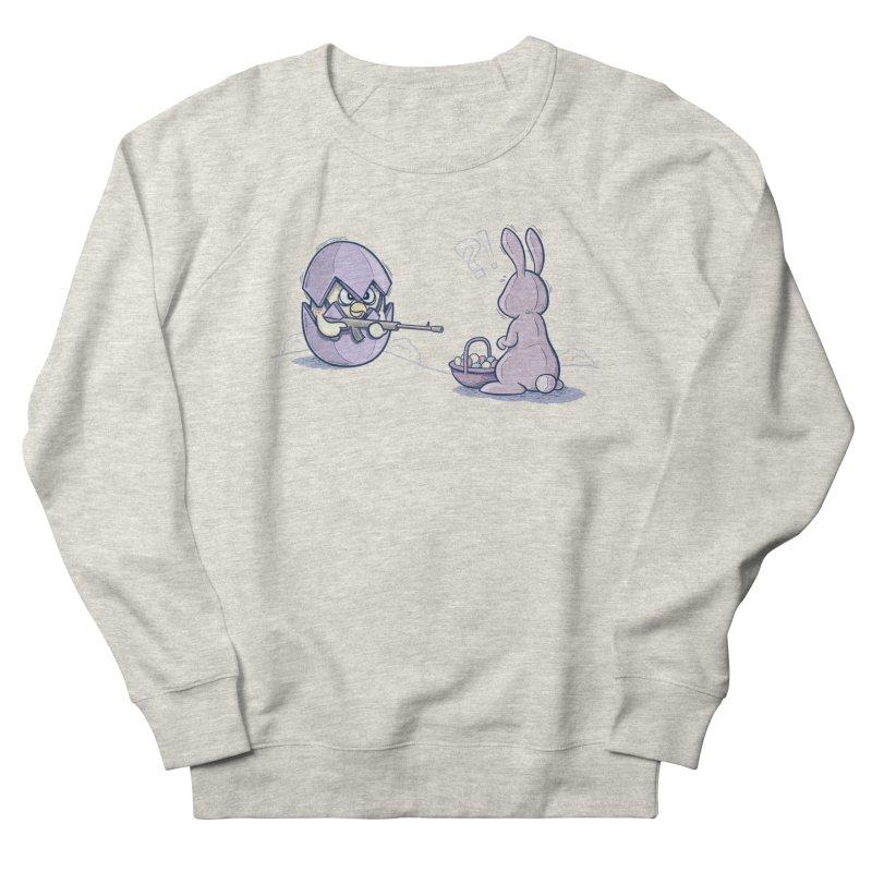 Easter Bunny in trouble Women's Sweatshirt by YiannZ's Artist Shop
