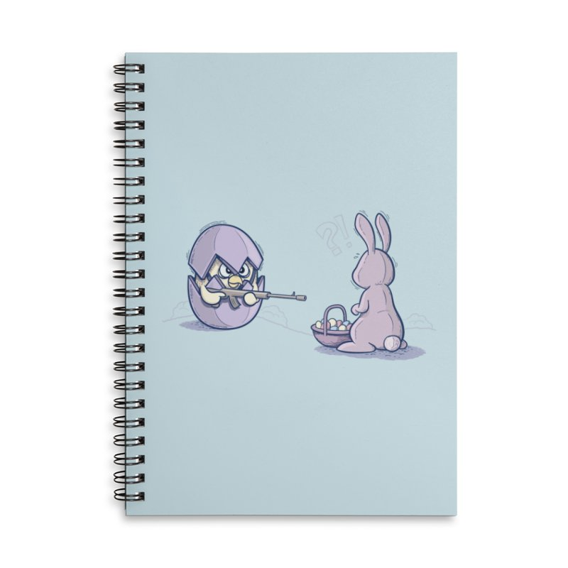 Easter Bunny in trouble Accessories Notebook by YiannZ's Artist Shop
