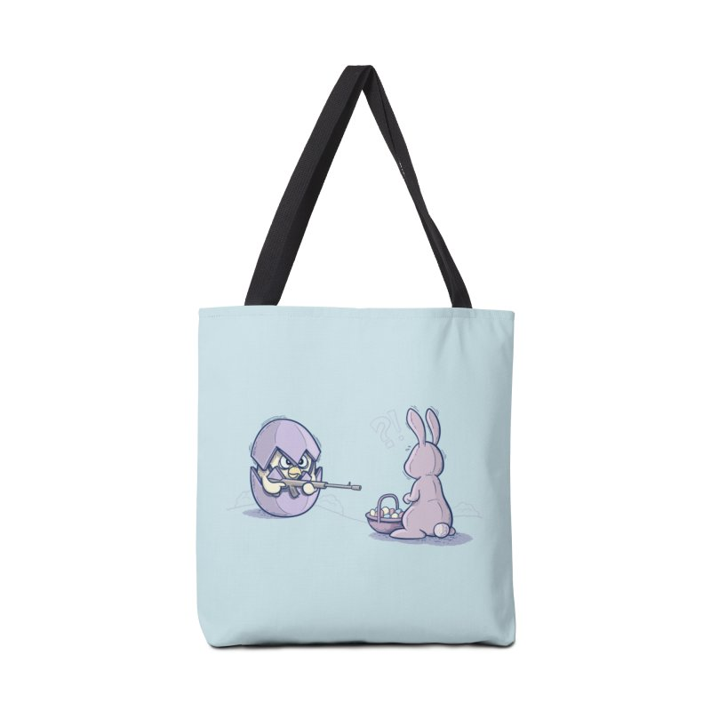 Easter Bunny in trouble Accessories Tote Bag Bag by YiannZ's Artist Shop